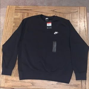 Men's Nike Large Black Pullover